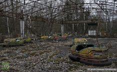 Abandoned Chernobyl Go Carts