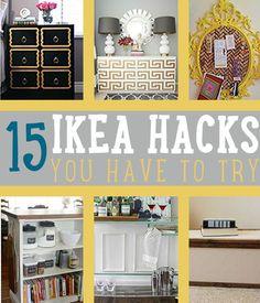 15 Amazing IKEA Hacks