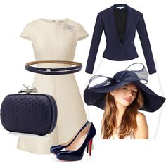 Kentucky Derby, created by luxlis on Polyvore