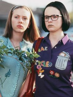 "Thora Birch as Enid and Scarlett Johansson as Rebecca in ""Ghost World"" (2001)"