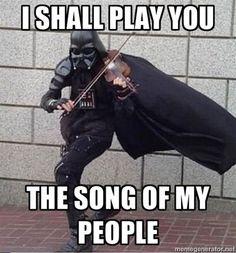 Darth Vader fiddle dance...teh win