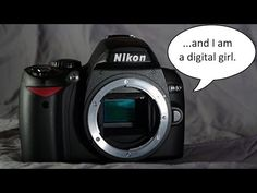Introduction to the Nikon D40, Video 3 of 12 (Diopter Adjustment) - YouTube