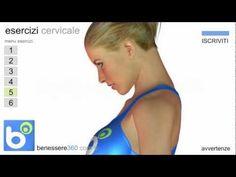 Esercizi per la cervicale infiammata : semplici rimedi contro il dolore..<3