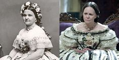 """Mary Todd Lincoln, wife of President Abraham Lincoln. Sally Davis in the film """"Lincoln""""."""