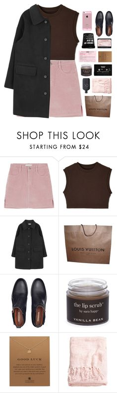 """losing my head"" by jewell-e ❤ liked on Polyvore featuring Louis Vuitton, NARS Cosmetics, Sara Happ, Dogeared, CASSETTE, H&M and Calvin Klein"