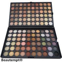 120 Colors Professional Eyeshadow Matte/Dry Powder Makeup Cosmetic Palette Smokey makeup/party makeup
