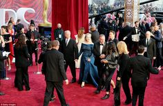 Been there, done that: Skipping the photo banks, Meryl and husband swept into the theatre ...