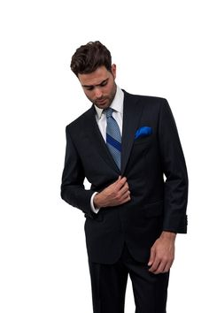 Midnight Blue One Button Suit