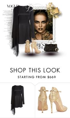 """""""Untitled #2213"""" by swc0509 ❤ liked on Polyvore featuring Oday Shakar and Gianvito Rossi"""