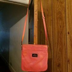 Ralph Lauren crossbody bag Pretty coral colored bag by Ralph Lauren Ralph Lauren Bags Crossbody Bags
