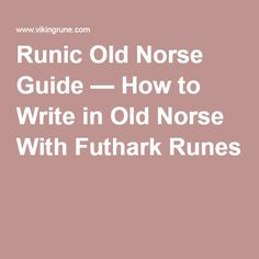 The 10 Best Books on the Runes - Norse Mythology for Smart ...