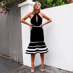 pull this monochrome piece from your closet for your next last minute event to purchase