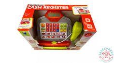 Bújj bele a pénztáros bőrébe és élvezd a boltos játékot, ezzel a modern játék pénztárgéppel!  Az érintőképernyős játék kassza bankkártya leolvasóval és hangot adó vonalkódleolvasóval van ellátva!  Számold ki a számológép résszel a pontos összeget , egy gombnyomás és kinyílik a kassza, ahol a játékpénzt találod.  Jöhetnek a vevők sorban, ezzel a pénztárgéppel könnyen megy a kiszolgálás.  A játék pénztárgép mérete: 23*21*23 cm. Cash Register, Electronics, Phone, Modern, Telephone, Trendy Tree, Mobile Phones, Consumer Electronics