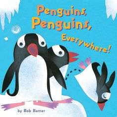 A parade of irresistible penguins—from climates warm and cold—swim, slide, and waddle across the pages of Penguins, Penguins, Everywhere! The enticing combination of bright, playful collage artwork and simple, rhyming text, plus illustrations of all 17 penguin species make this an ideal choice for the youngest readers.