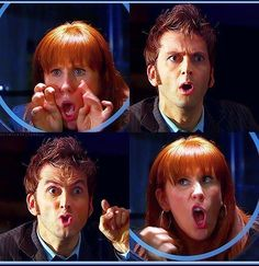 Donna and The Doctor haha