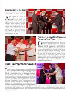 Besides, the magazine aims to tell the stories of successful entrepreneurs and business men who inspire Gen next for emulating their achievements. It will factor in the interests of business leaders, consumers, professionals and investors.