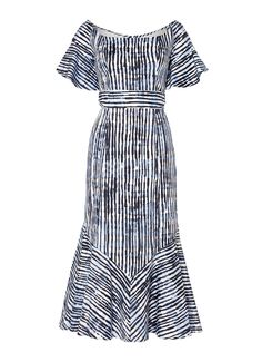 b45ad51c058 Fantasy Stripe Dress - Blue Stripe