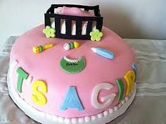 baby shower cakes for girls - Google Search