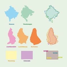 Some places that look like other places. (With bonus wow! content). ➖ #map #maps #cartography #geography #topography #mapping #mappe #carte #mapa #karta #shape #shapes #similar #similarity #compare #comparison #kosovo #montenegro #liechtenstein #luxembourg #luxemburg #barbados #wyoming #colorado #interesting #overlay #infographic #place #places #similar