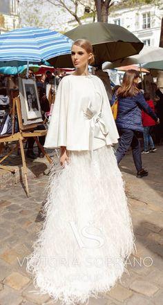 Courtesy of Victoria Soprano Group Wedding Dresses; www.victoriasoprano.com