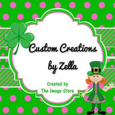 Custom Creations by Zella https://www.facebook.com/customcreationsbyzella