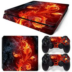 Video Games & Consoles Wood 3 Motiv Xbox One X Skin Design Foils Aufkleber Schutzfolie Set Faceplates, Decals & Stickers