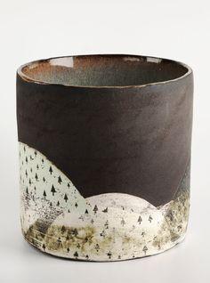 abstract pottery, Green Hill, Julia Smith Ceramics