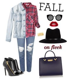 """""""Fall on fleek"""" by valenise-duncan ❤ liked on Polyvore featuring Topshop, Quay, Tom Ford, RVCA, rag & bone, ZAC Zac Posen and Charlotte Russe"""