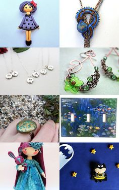 Purple Blue Teal Crazy A's  by Lily Bhattacharya on Etsy--Pinned with TreasuryPin.com