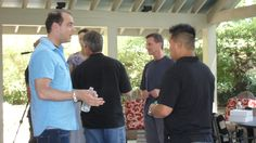 Rob Fore, Laurence Tam, John Mroz ... hanging out prior to the Empower Network Live event in Atlanta