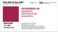 APPart – Mobile Art – Pantone Color of the Day – 'Persian Red' – TheAppWhisperer