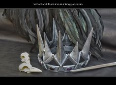Queen Ravenna - The Evil Queen's crown, resin, custom made, Snowwhite and the huntsman. €153.00, via Etsy.
