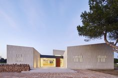 Gallery of Stone Clubhouse / GRAS Arquitectos - 8