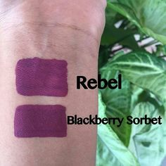 "@lagirlcosmetics ""Rebel"" ($5) vs. Sephora ""Blackberry Sorbet"" ($14)! Thank you @lipstickgoddesses for sharing your swatches! by dupethat"