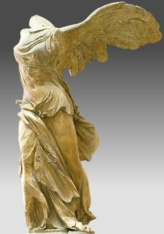 Winged Victory of Samothrace... ain't she swell? La Louvre ... ain't she grand? Don't know how you'll get me back on the farm after I've seen Paris!