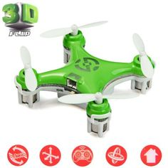 Cheerson CX - 10 Portable 2.4G 4CH 6 Axis Gyro RC Quadcopter with Night Light Wonderful for Christmas Eve-15.99 and Free Shipping| GearBest.com