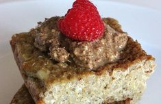 Under 300 Calories: Gluten-Free Cinnamon Quinoa Bake just have to substitute out the eggs & sounds yum! Healthy Baking, Healthy Treats, Healthy Desserts, Eat Healthy, Real Food Recipes, Yummy Food, Under 300 Calories, Gluten Free Recipes, Sweet Tooth