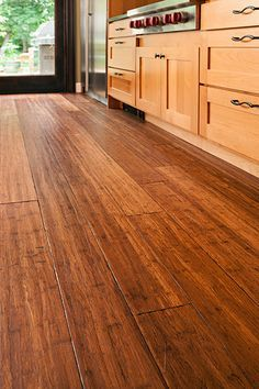 The pros and cons of bamboo flooring, how to determine if it's right for your home.