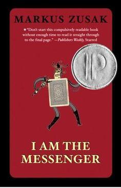 I Am the Messenger - mențiune de onoare în anul 2006 Autor: Markus Zusak Ya Books, Book Club Books, Book Lists, Reading Lists, Good Books, Books To Read, Markus Zusak, Love Book, This Book