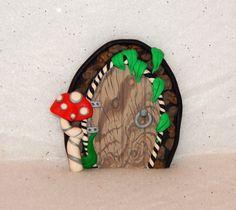 Fairy Door Ornament  polymer clay fairy door  by Wishcraft2013, £7.50