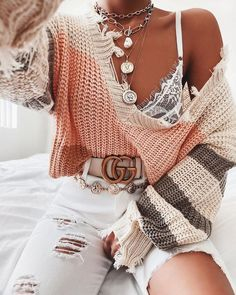 Comfortable stylish combination : Create your style Cute Comfy Outfits, Girly Outfits, Outfits For Teens, Stylish Outfits, School Outfits, Winter Fashion Outfits, Look Fashion, Spring Outfits, Street Fashion