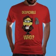 Despicable Who? | Qwertee : Limited Edition Cheap Daily T Shirts | Gone in 24 Hours | T-shirt Only £8/€10/$12 | Cool Graphic Funny Tee Shirts