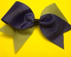 Two tone cheer now- solid, purple and silver