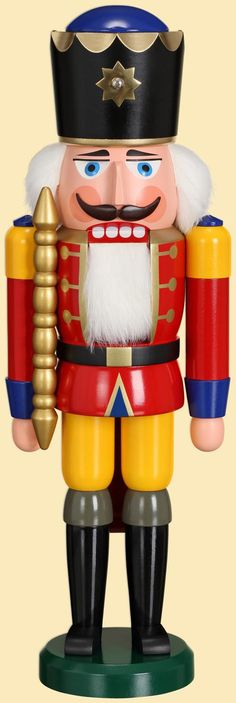 Seiffener Volkskunst eG * King, 39 cm, red