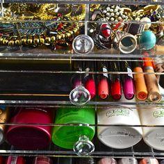 Makeup Storage, Makeup Organization, Storage Ideas, Nespresso, Drawers, Crystals, Shop, Model, Collection