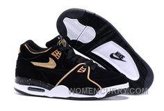 huge selection of 49c44 9657b Nike Air Flight  89 Black Metallic Bronze-White Mens Basketball Shoes  Christmas Deals YiyKyt