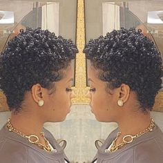 Trials N' Tresses — @brittanyblueroze love this cut#teamnatural...