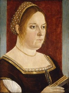 A Woman, ca. 1495 (Vittore Carpaccio) Denver Art Museum, CO  The Kress Collection, 1961.168