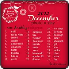 (photo a day challenge) 2013 december