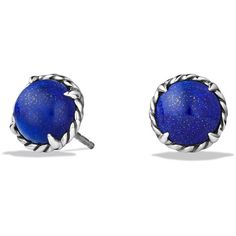 David Yurman Chatelaine Earrings (6.565 ARS) ❤ liked on Polyvore featuring jewelry, earrings, apparel & accessories, david yurman, earring jewelry, david yurman jewellery, david yurman earrings and david yurman jewelry